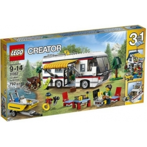 Конструктор Decool Architect 3117 Кемпинг (LEGO 31052 VACATION GETAWAYS)