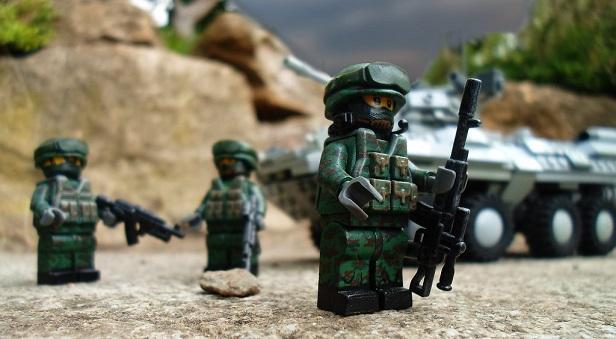 военное лего